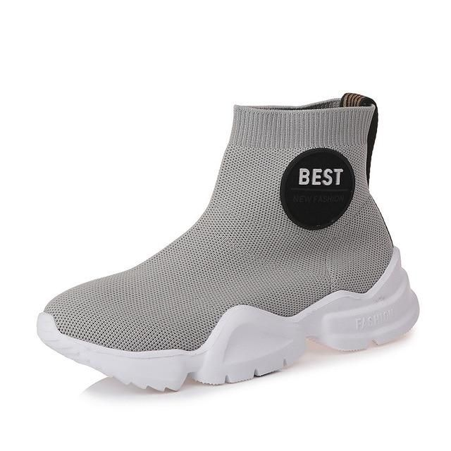 afaa0bcea3724d HZXINLIVE 2018 Women Casual Shoes Fashion Autumn Sneakers Mesh Breathable  Ladies Vulcanized Shoes zapatos mujer tenis feminino