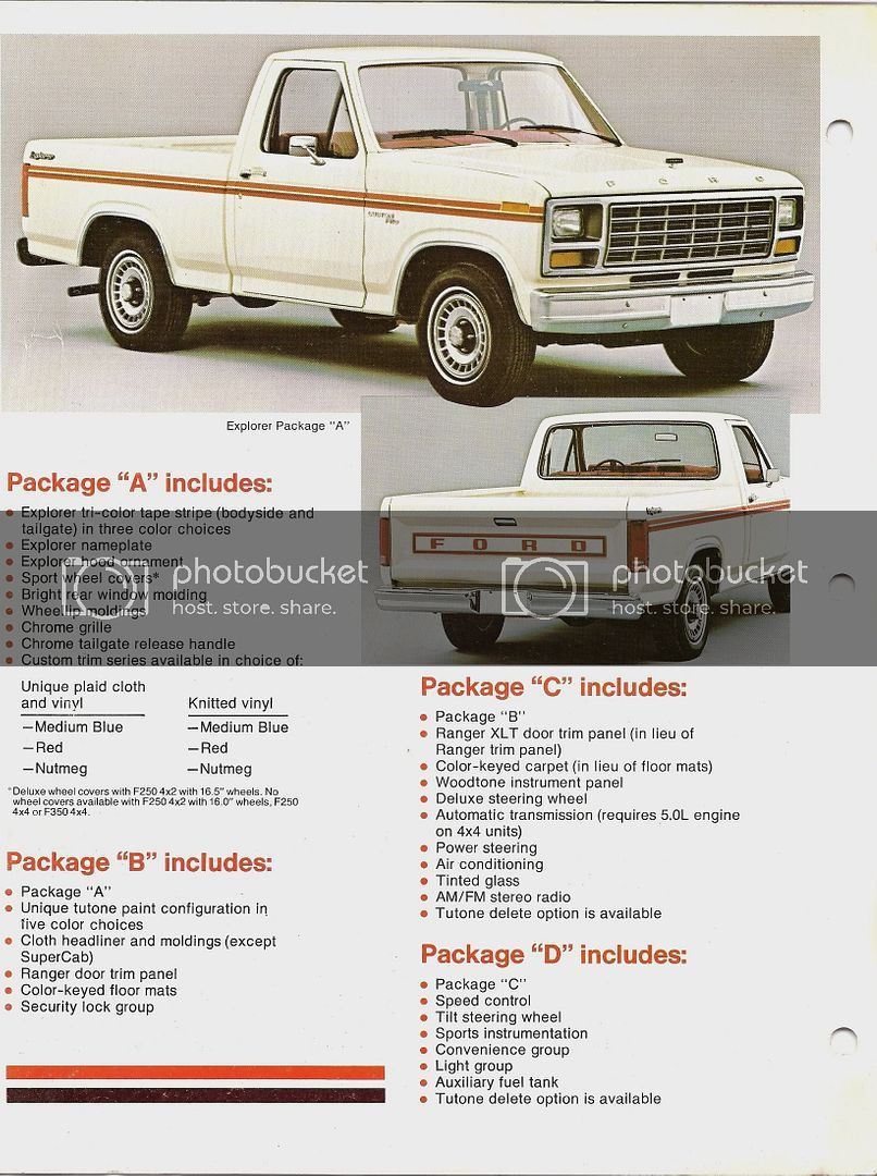1980 1981 Explorer Postcards Ford Truck Enthusiasts Forums In 2020 Ford Trucks Ford Pickup Ford Truck
