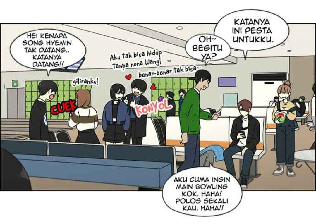 Love Revolution di 2020 Webtoon, Komik, Bowling