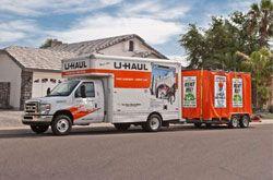 U haul storage container