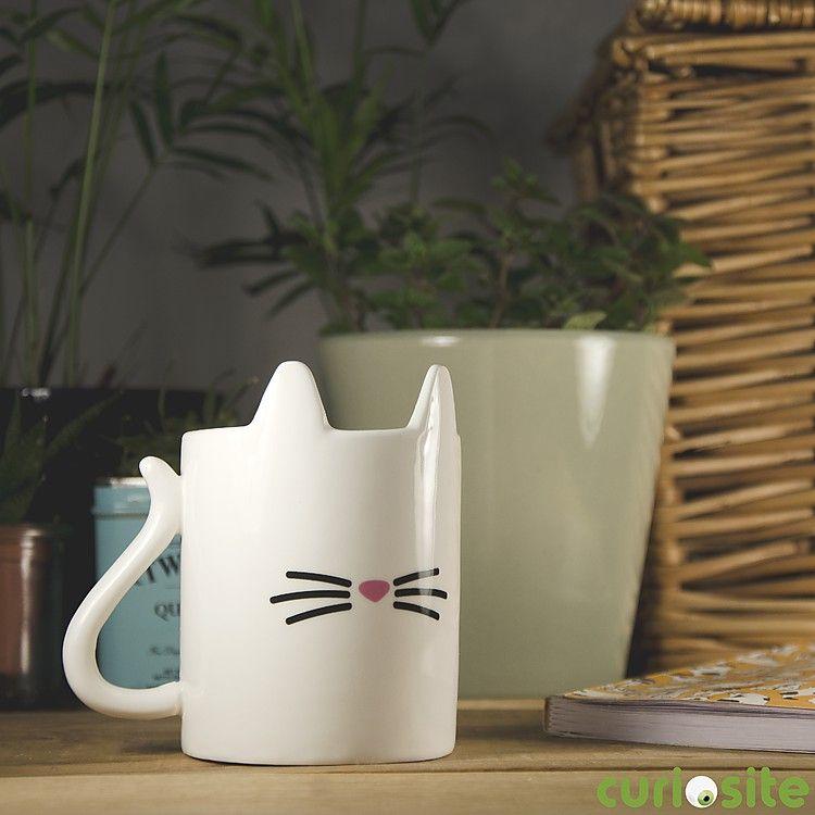La taza gato es puro amor