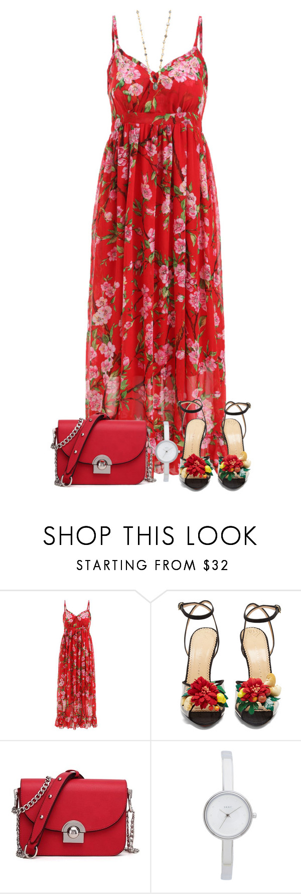 """""""// 9 . 04 . 17 . //"""" by alicefalina ❤ liked on Polyvore featuring Charlotte Olympia, DKNY and Ela Rae"""