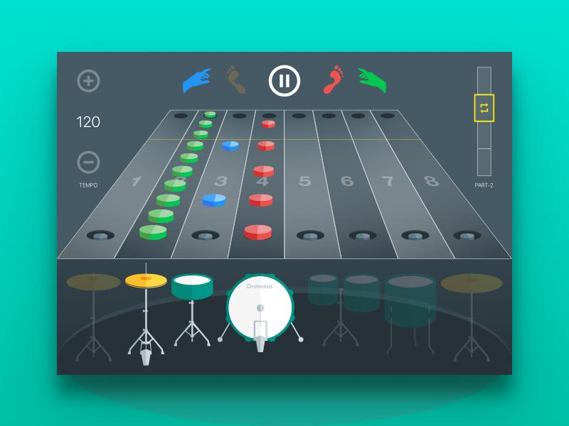 Drummar (Web App) Web app, Web app design, App