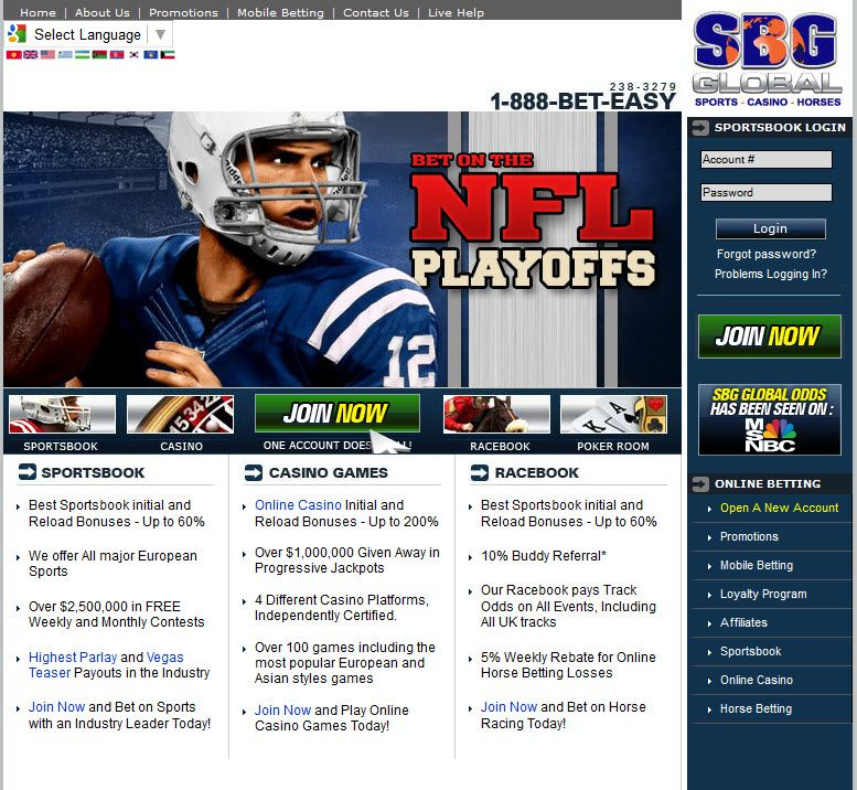 sites list of sports betting