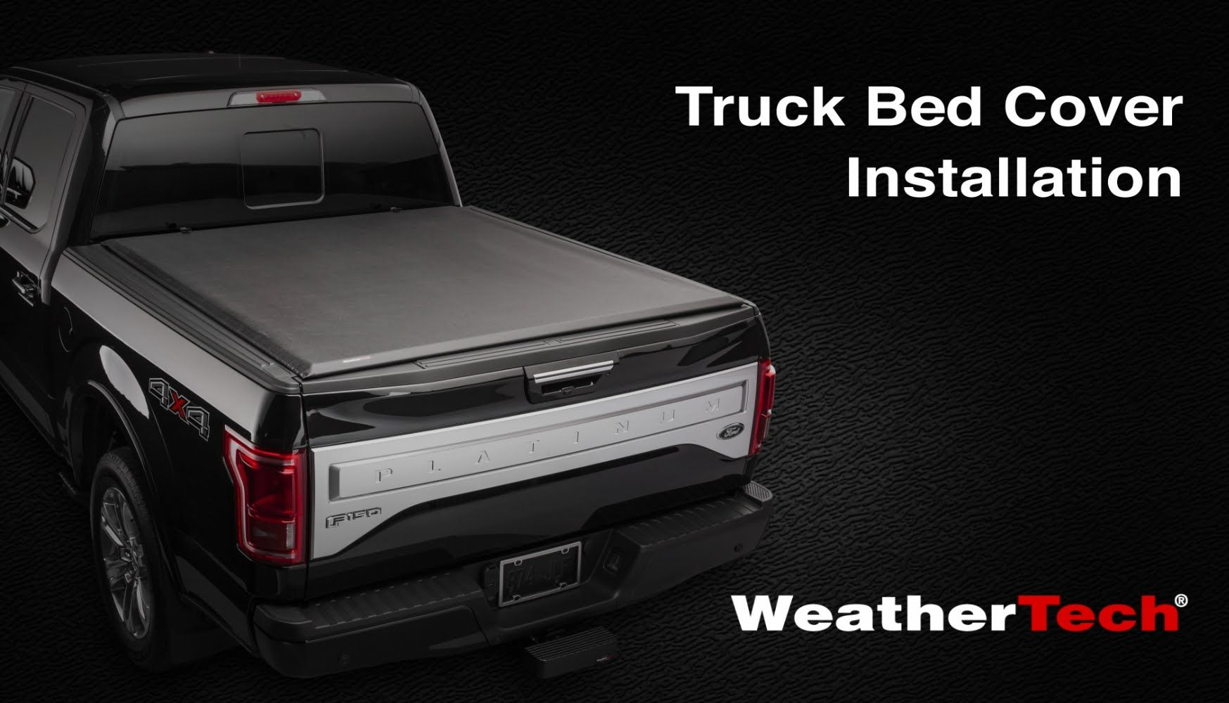 WeatherTech® Roll Up Truck Bed Cover Installation Video