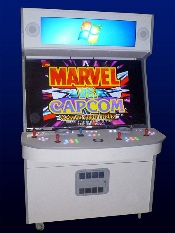 Massive 4 player arcade cabinet features 55-inch LED/LCD Smart TV ...