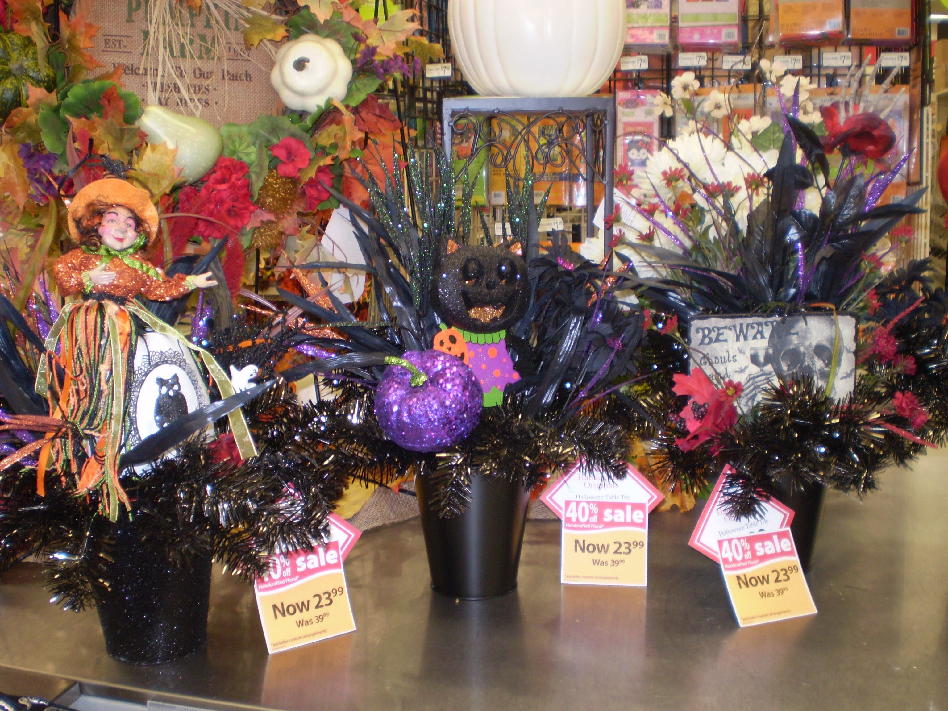 Pin by Sherrie Roehrig on Halloween with Michaels designers - michaels halloween decorations