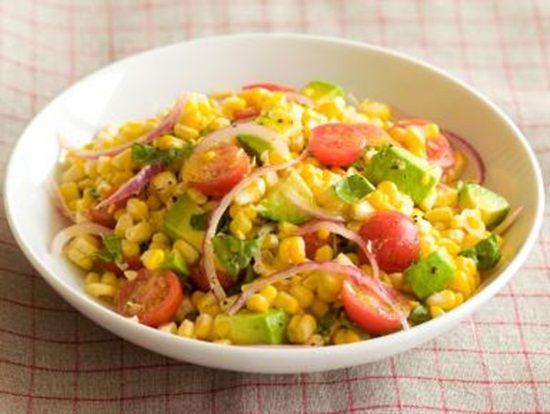 Raw vegan summer salad w corn tomato raw food recipes for raw vegan summer salad w corn tomato raw food recipes for beginners forumfinder Images