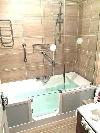 Walk Tubs For Elderly Handicapped Bathtubs Scenic Bathtub Seniors Tub And Shower Combo Covidia In 2020 Shower Tub Walk In Shower Walk In Shower Bath