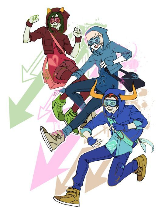 all the rogues [Roxy: rogue of void - Nepeta: rogue of heart - Rufioh: rogue of breath