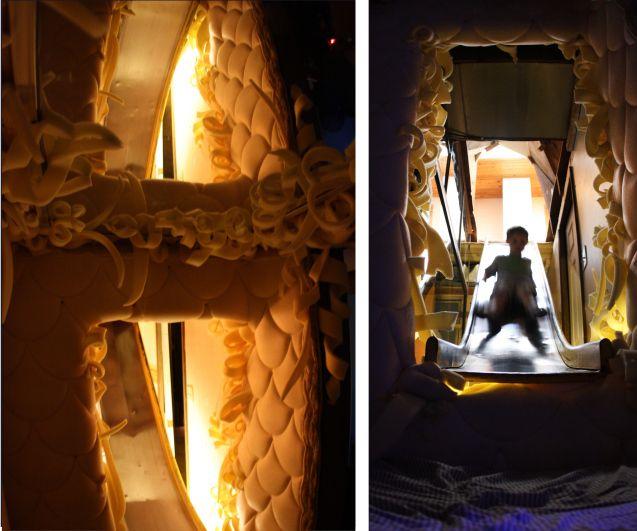 Tube slide, 2013.