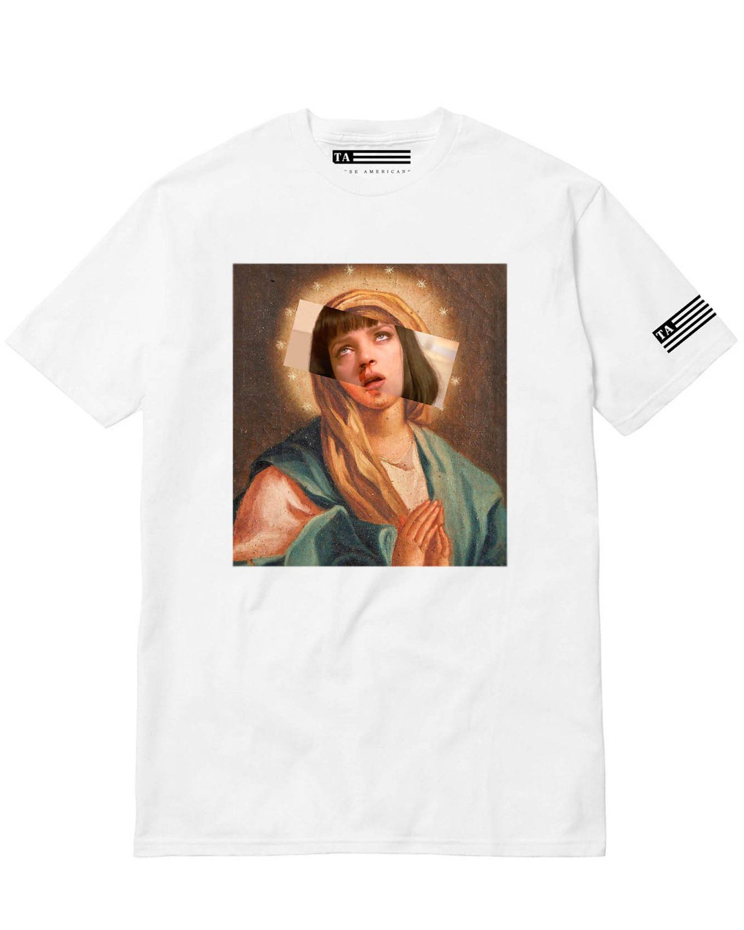 af93557c5 Ave Mia Tee | Products | Tees, Mia wallace, Mens tops