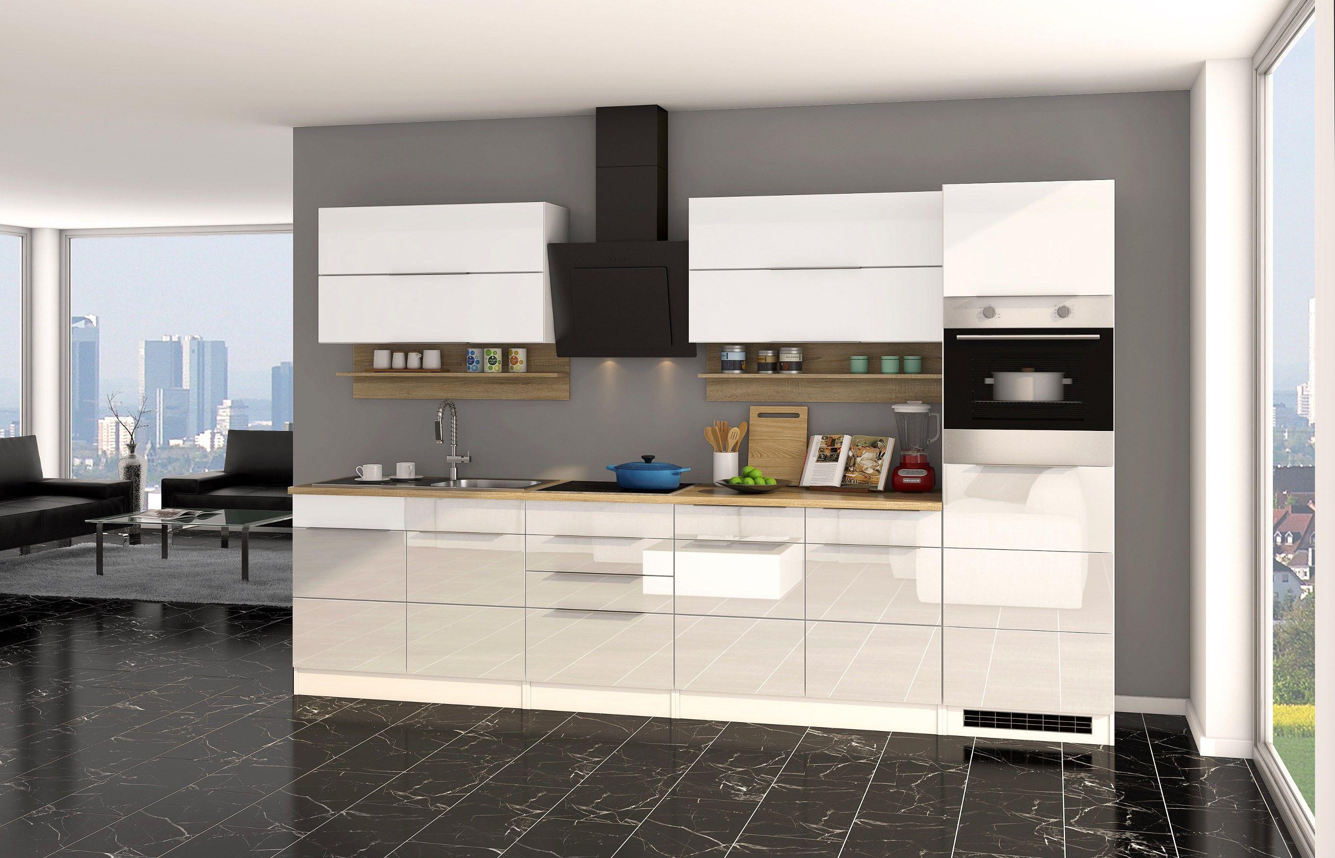 Küchenzeile Mit Elektrogeräten Günstig  Einbauküche, Küche kaufen