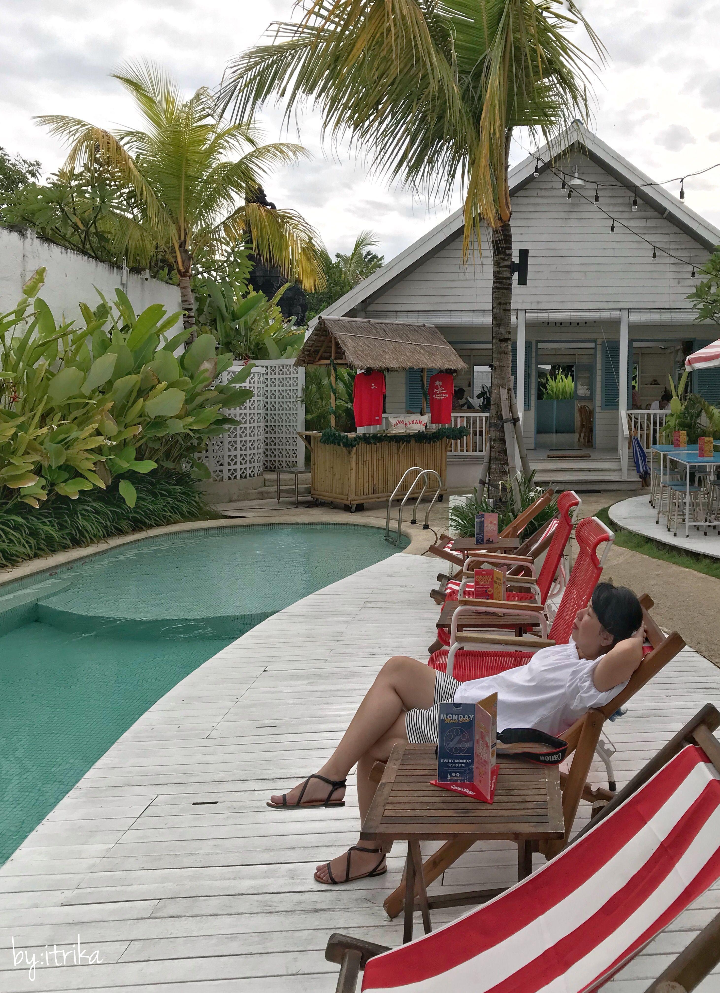 Just Sit Relax Enjoy At Panama Kitchen Pool Canggu Bali