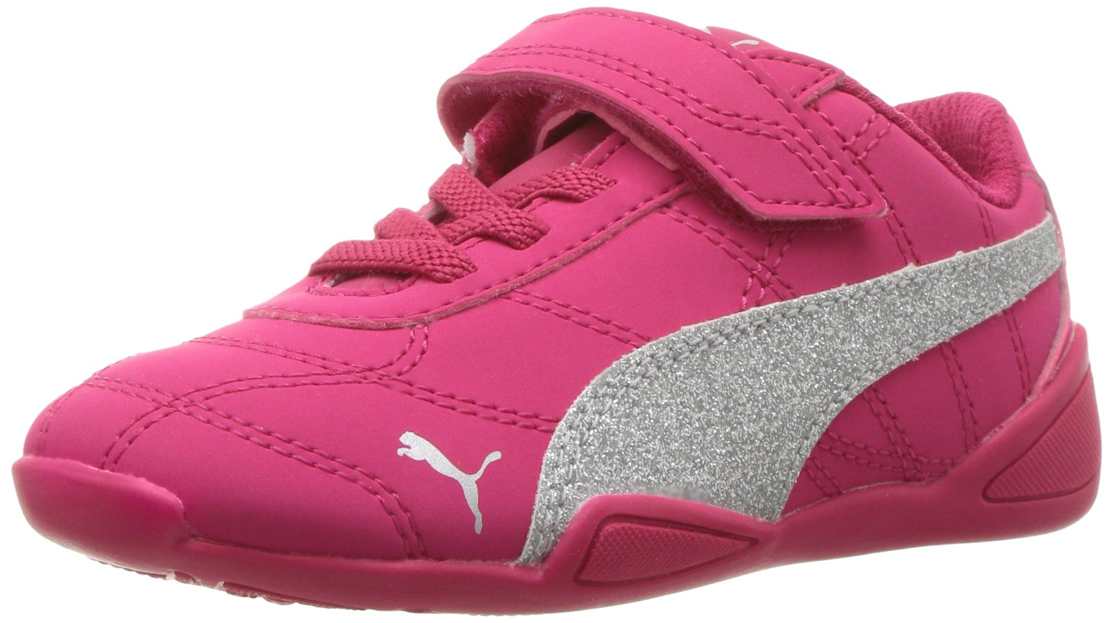 766880db64c8 PUMA Baby Tune Cat 3 Glam V, Love Potion-Puma Silver, 10 M US ...