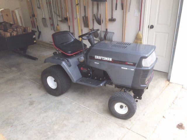Details about Craftsman LT-4000 Lawn Garden Tractor: 14HP
