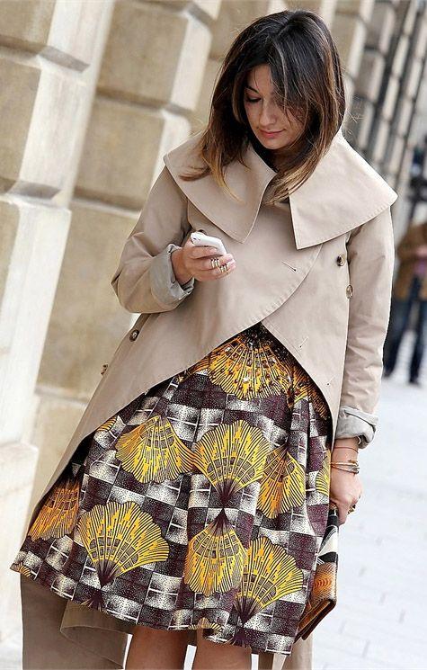 @stellajeanlltd skirt, street fashion, paris fashion week, vogue Street Style. #Africanfashion #AfricanClothing #Africanprints #Ethnicprints #Africangirls #africanTradition #BeautifulAfricanGirls #AfricanStyle #AfricanBeads #Gele #Kente #Ankara #Nigerianfashion #Ghanaianfashion #Kenyanfashion #Burundifashion #senegalesefashion #Swahilifashion DK