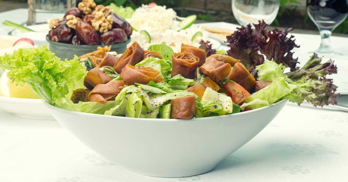طريقة عمل سلطة الفتوش Recipe Salad Food Salads