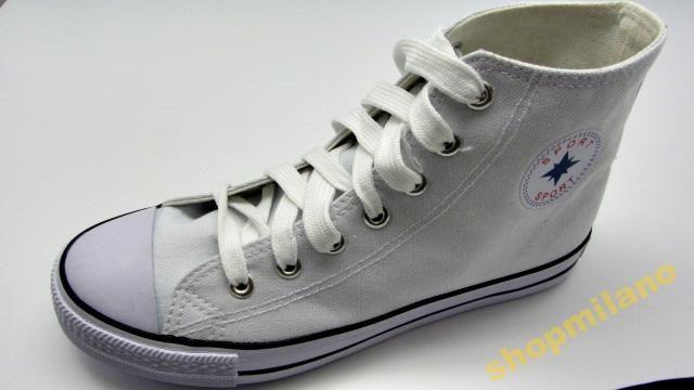 Trampki Za Kostke Meskie Dts47 Biale Rozm41 47 3469430289 Oficjalne Archiwum Allegro Converse Chuck Taylor High Top Sneaker Chucks Converse Converse High Top Sneaker