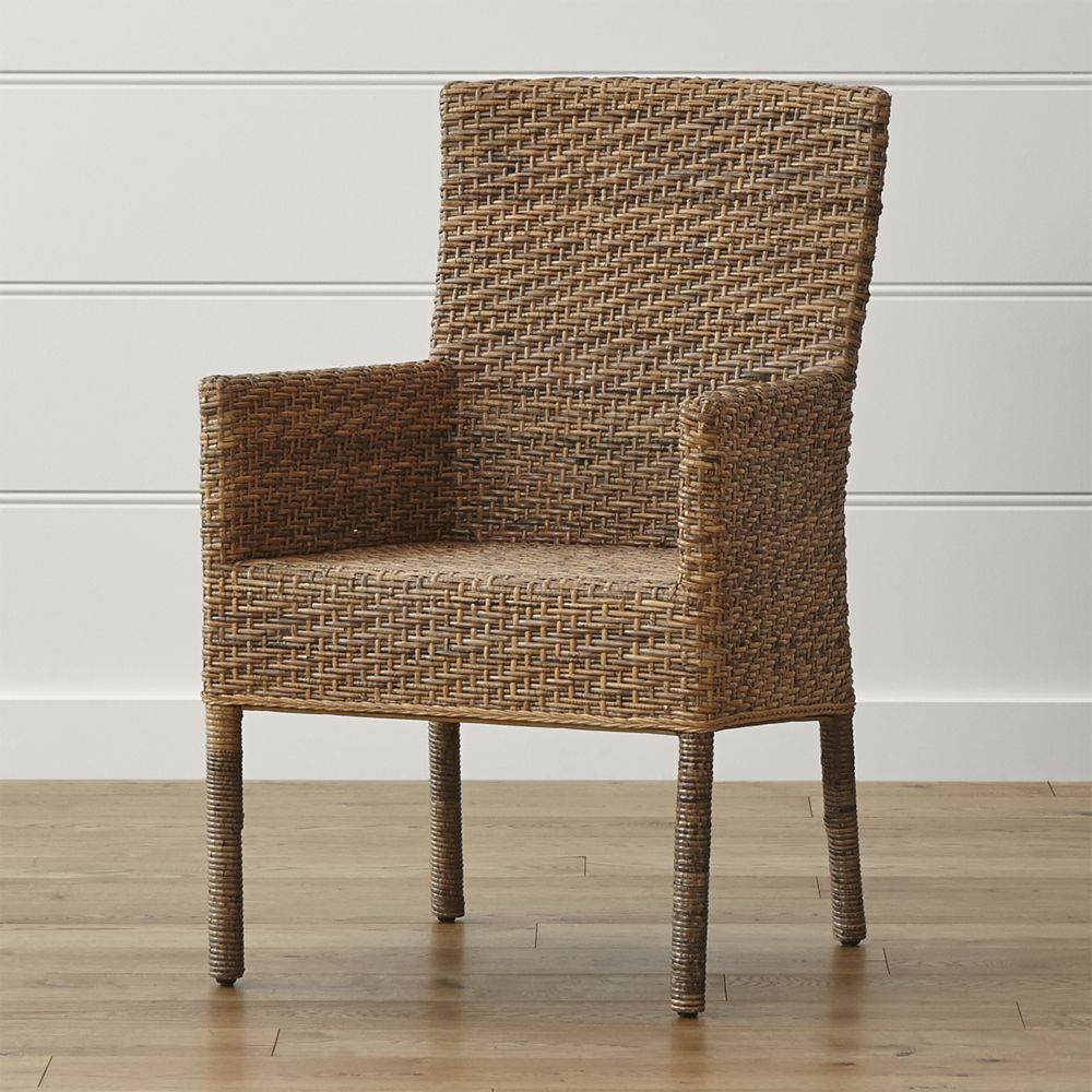 Crate And Barrel Dining Room Chairs: Tigris Dining Arm Chair - Crate And Barrel