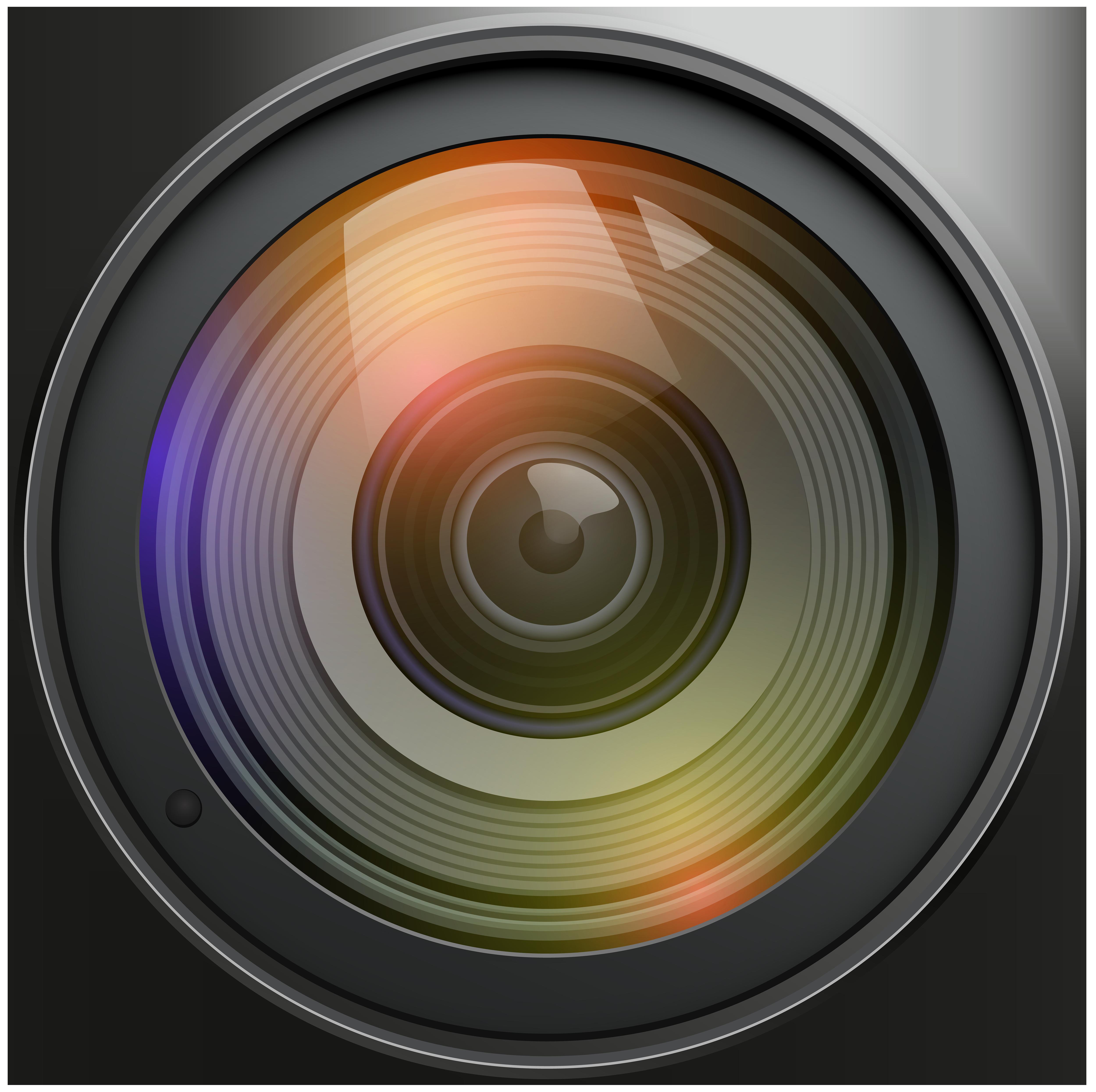 Lens Transparent PNG Clip Art Camera lens, Lens logo
