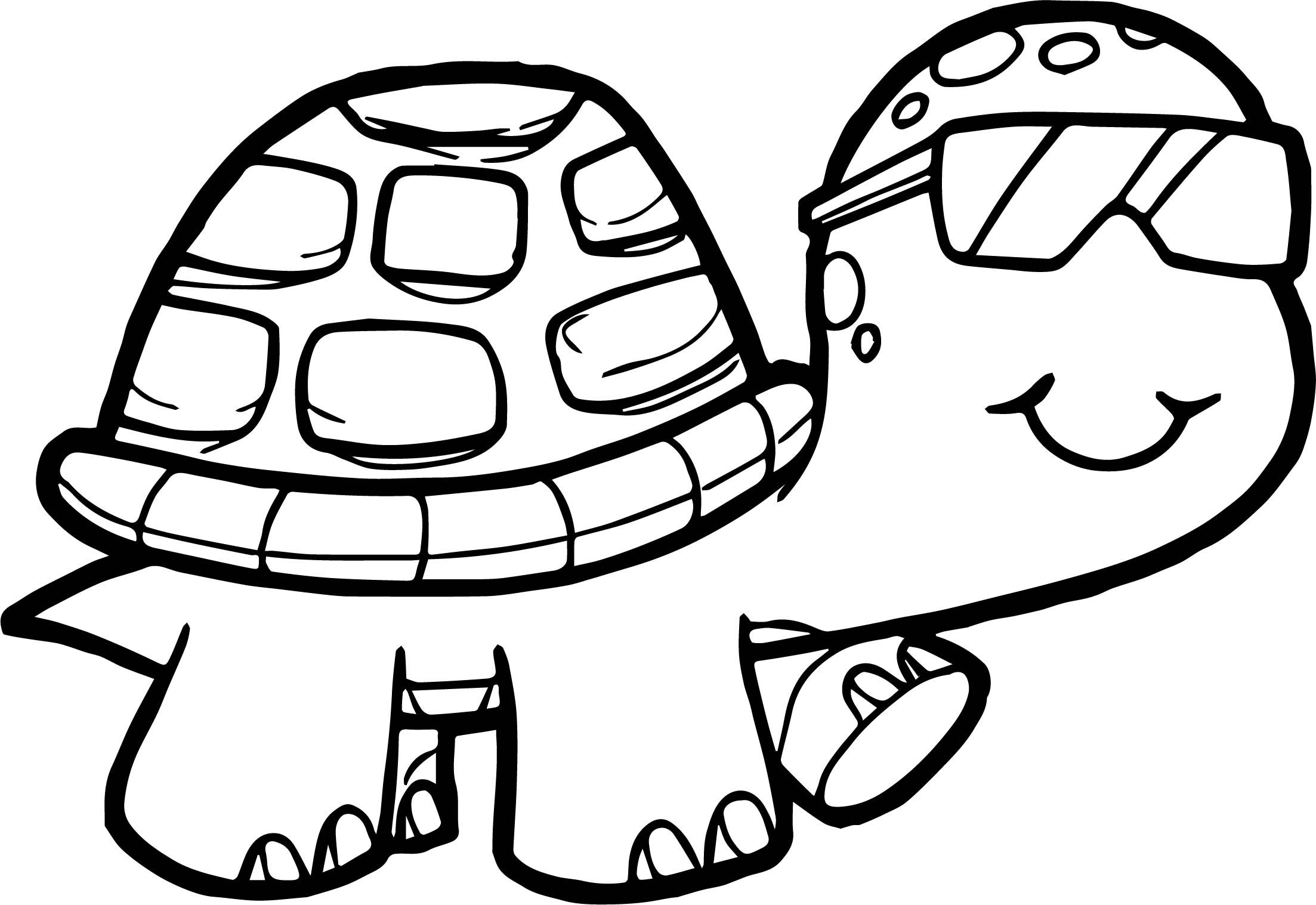 Glasses Tortoise Turtle Coloring Page Turtle Coloring Pages Unicorn Coloring Pages Kids Printable Coloring Pages