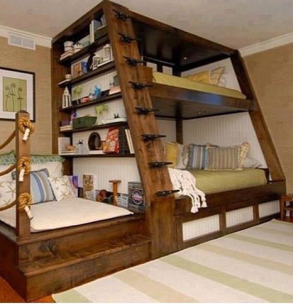 die besten 25 coole etagenbetten ideen auf pinterest. Black Bedroom Furniture Sets. Home Design Ideas