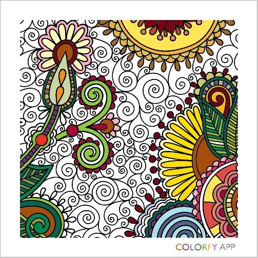 Colorfy coloring book colorfy Pinterest