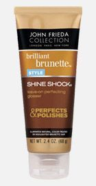 John Frieda Brilliant Brunette Shine Shock Leave On Perfecting Glosser Rated 4 1 Out Of