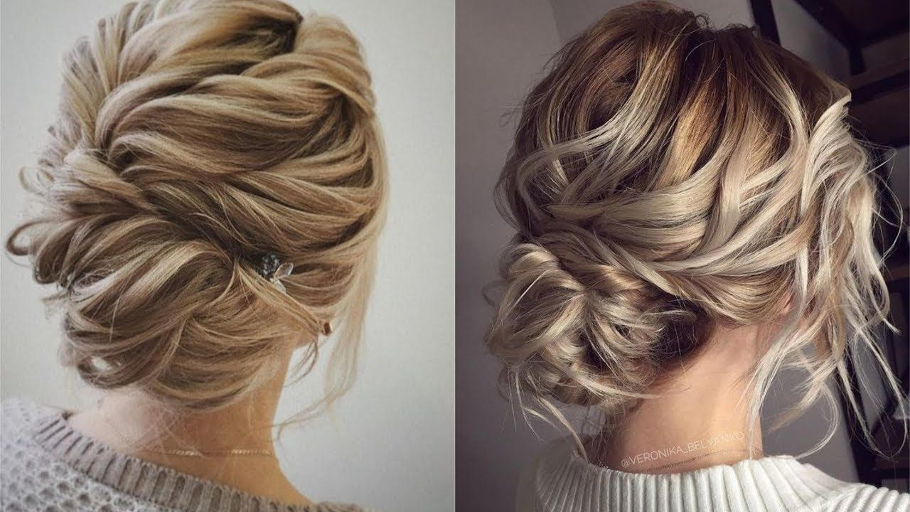 elegant bun hairstyles easy updo hairstyles| how to use