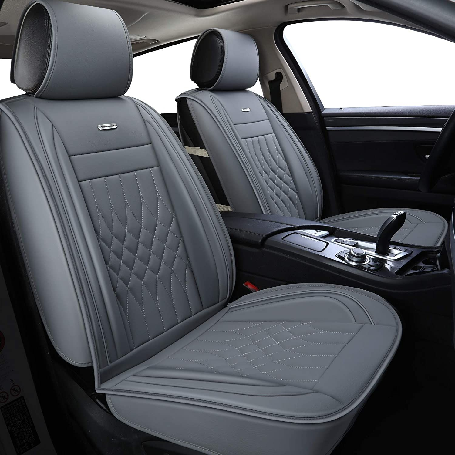 Luckyman Club Gray Car Seat Covers Fit Most Sedan Suv Truck Fit
