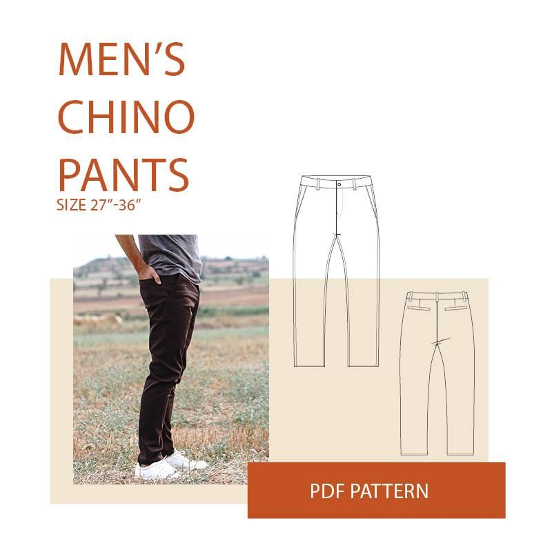 Chino pants sewing pattern | Sew It - Indie | Pinterest | Sewing ...