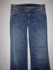 Mother Jeans The Wilder Flare Leg in Medium Kitty Wash Size 27