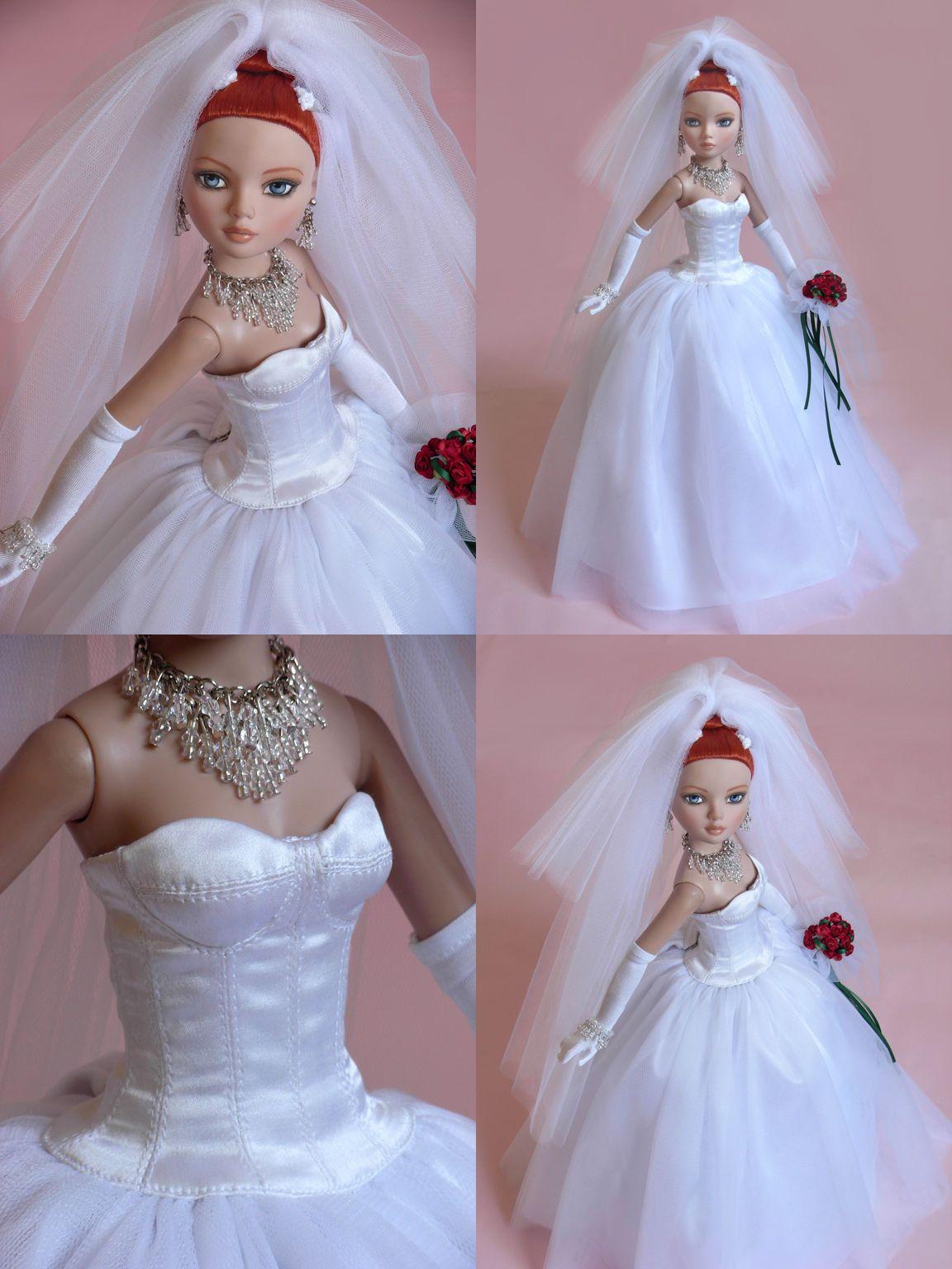 Sherry Wedding Dress for Ellowyne Wilde Doll Clothing Accessories EWO Bride 1 | eBay