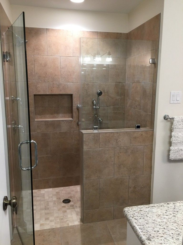 8X12+Tile+Shower+Stall+Design Remodeling for possible