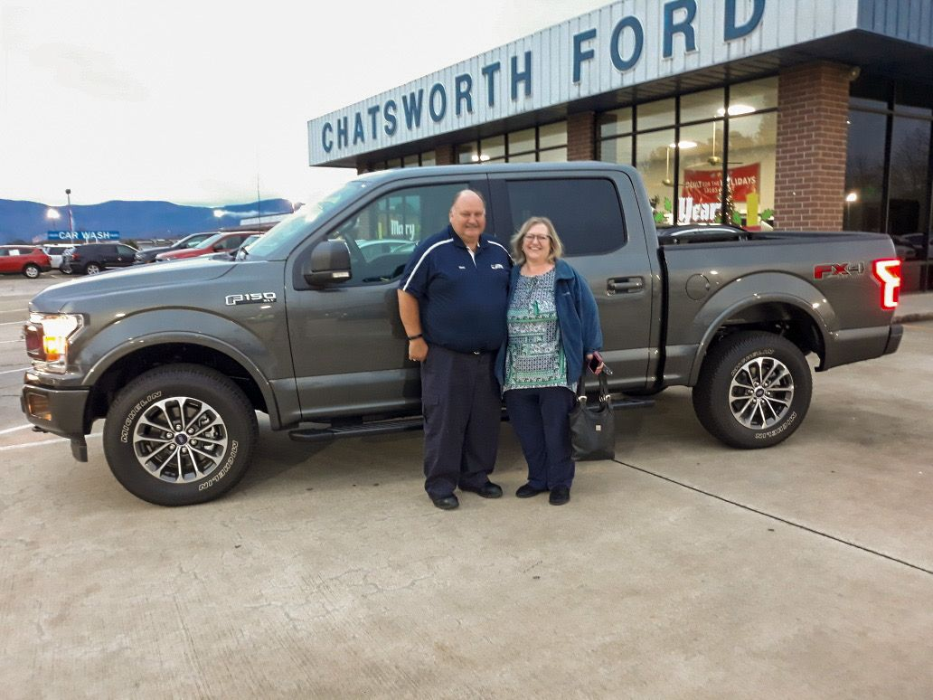 congratulations steve and esie ware of chatsworth ga on your new 2019 f 150 xlt 4x4 sold by brian smith we appreci ford news new and used cars things to sell 2019 f 150 xlt 4x4 sold by brian smith