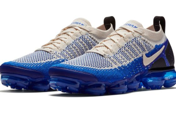 low cost e0cd9 cf814 Nike Air VaporMax 2 Light Cream Racer Blue Coming Soon The Nike Air  VaporMax 2 is
