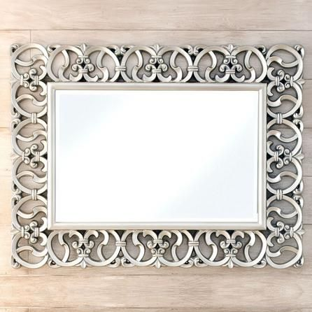 Ornate Highlife Framed Mirror | Dunelm | Mirror Frames ...