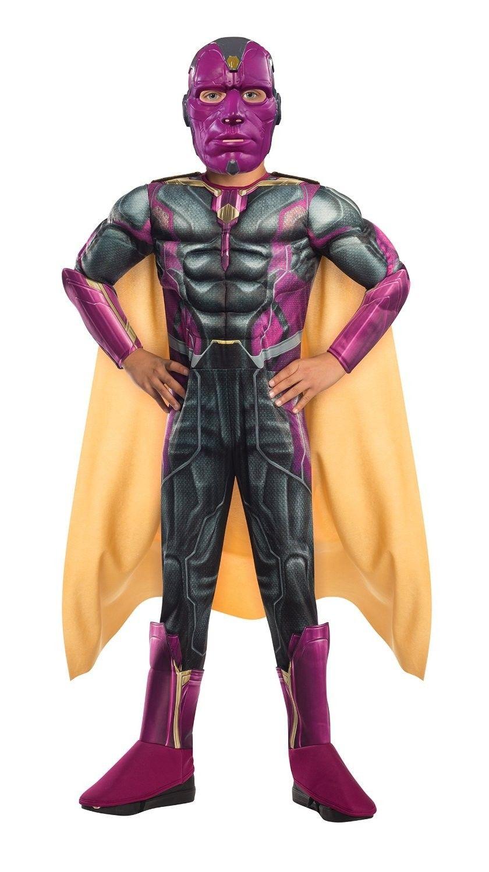 Marvel Avengers 2 Age of Ultron Muskel Vision Kinderkostüm