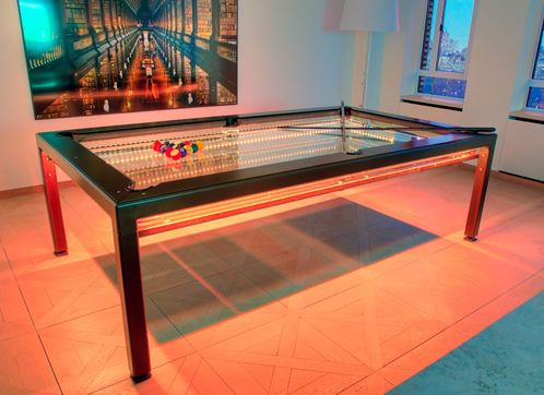 nottage design g 4 glass pool table