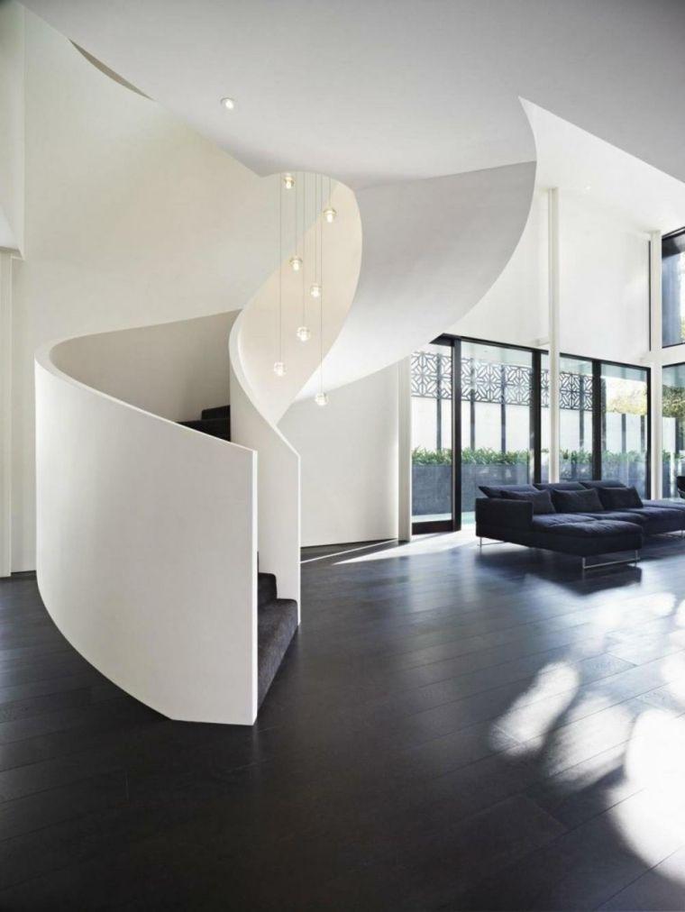 Escaleras de caracol modernas - más de 24 diseños alucinantes - Diseo De Escaleras Interiores