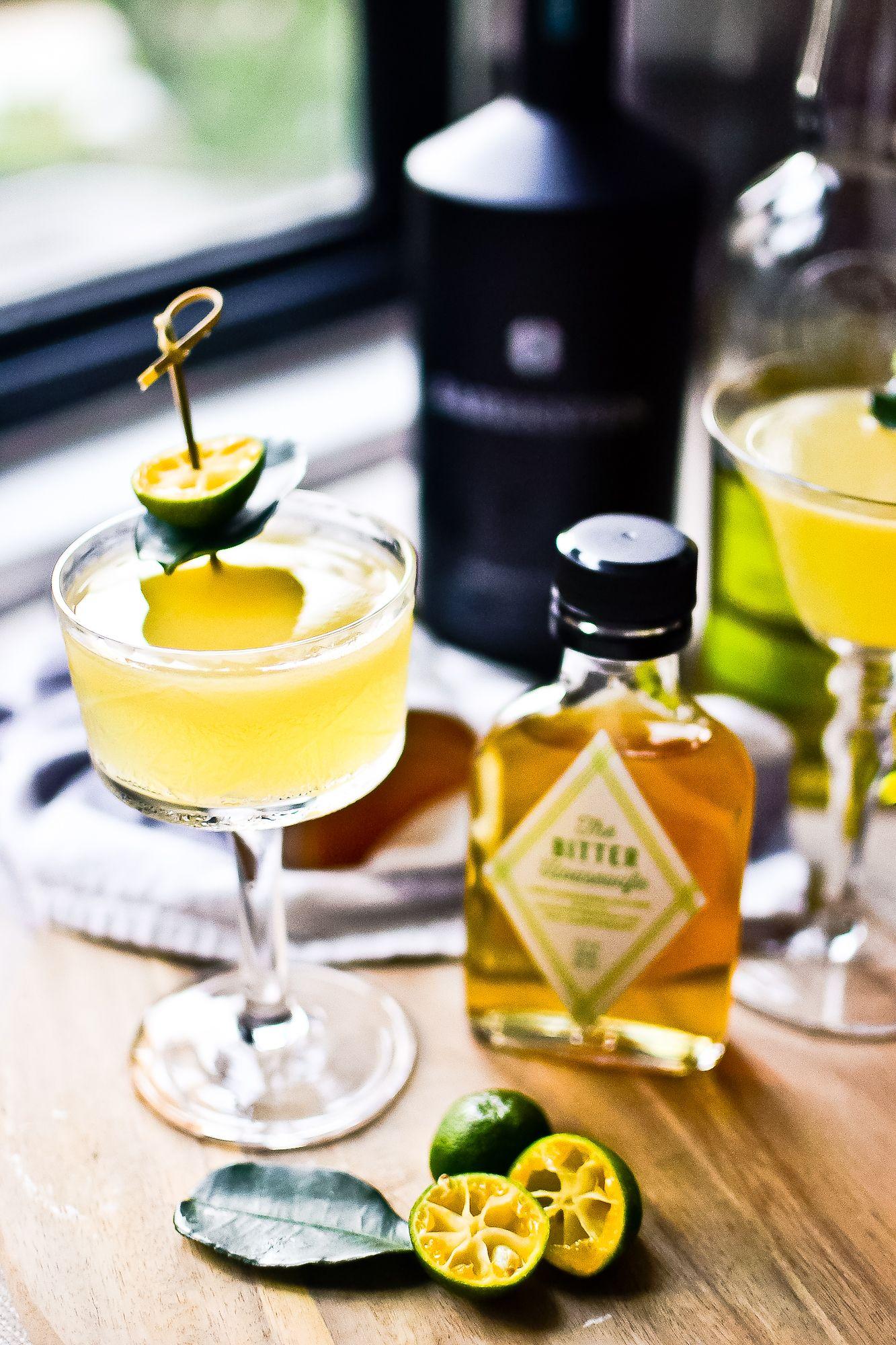Recipe Calamansi Lemongrass Cocktail With Coriander Bitters Hint Of Spice Recipe Calamansi Gin Cocktails Lemongrass Drink