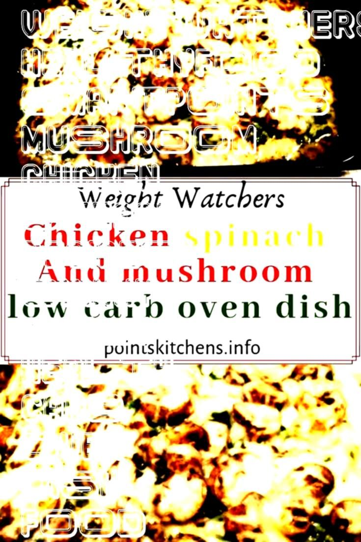 and mushroom low carb oven dish            Chicken spinach and mushroom low carb oven dish            spinach and mushroom low carb oven dish            Chicken spinach a...