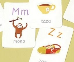 Printable Spanish Alphabet Cards from Mr. Printables » Spanish Playground | Preschool Spanish | Scoop.it