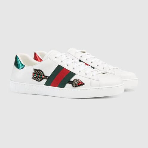 Collection de baskets Gucci Ace   Mode Fashion   Pinterest 0548d9c941d