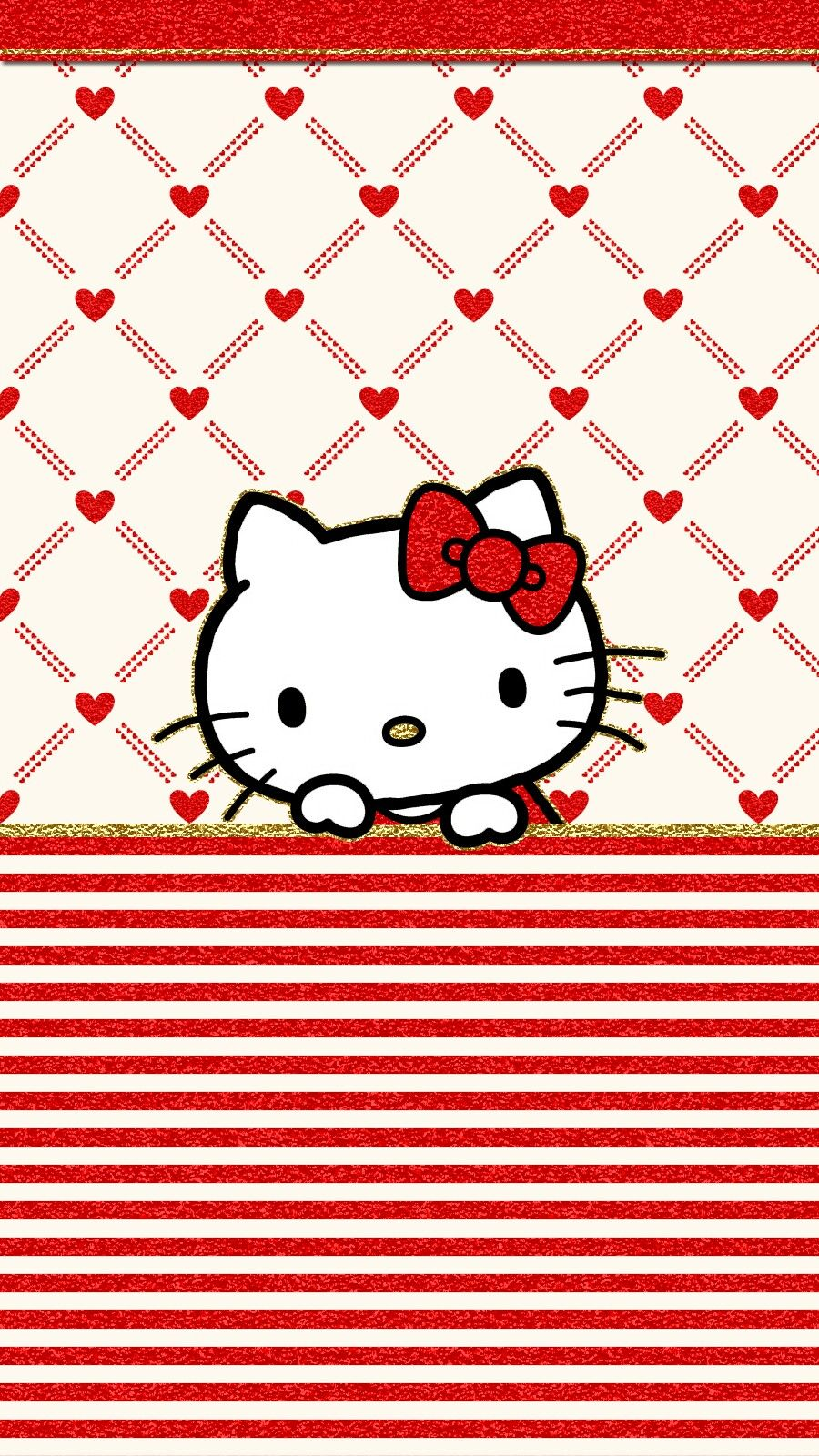Iphone Wall Valentine S Day Tjn Hello Kitty Sublimados Dibujos