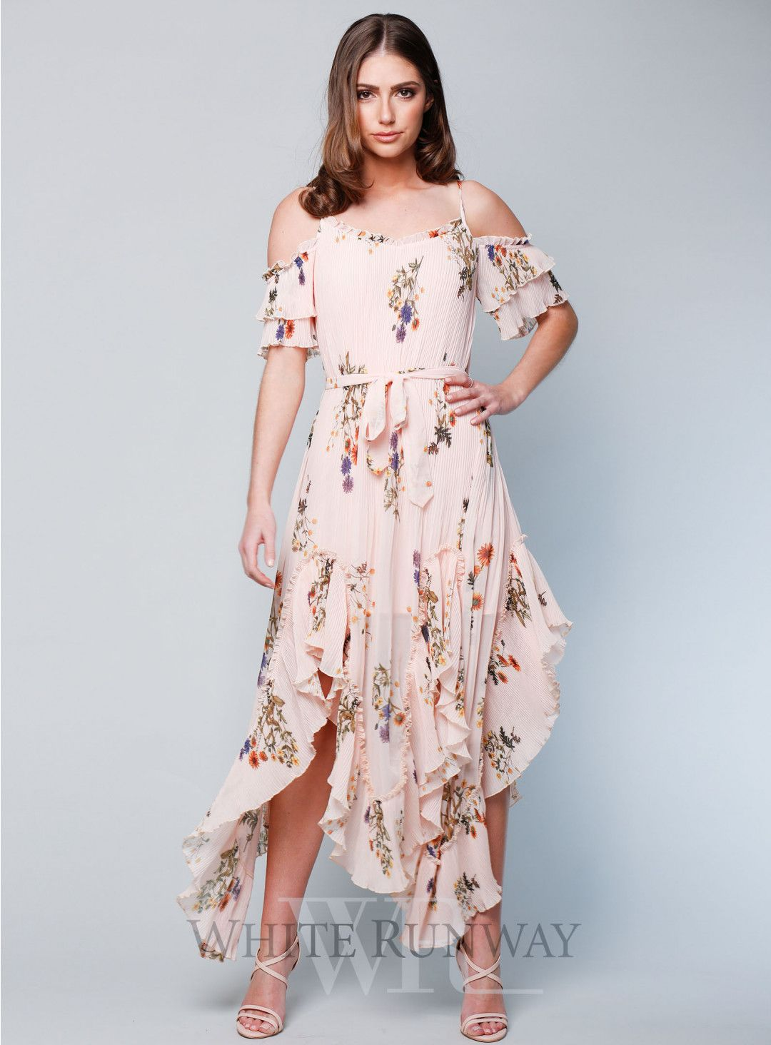 Country Field Maxi Dress A Gorgeous Cocktail Dress By We