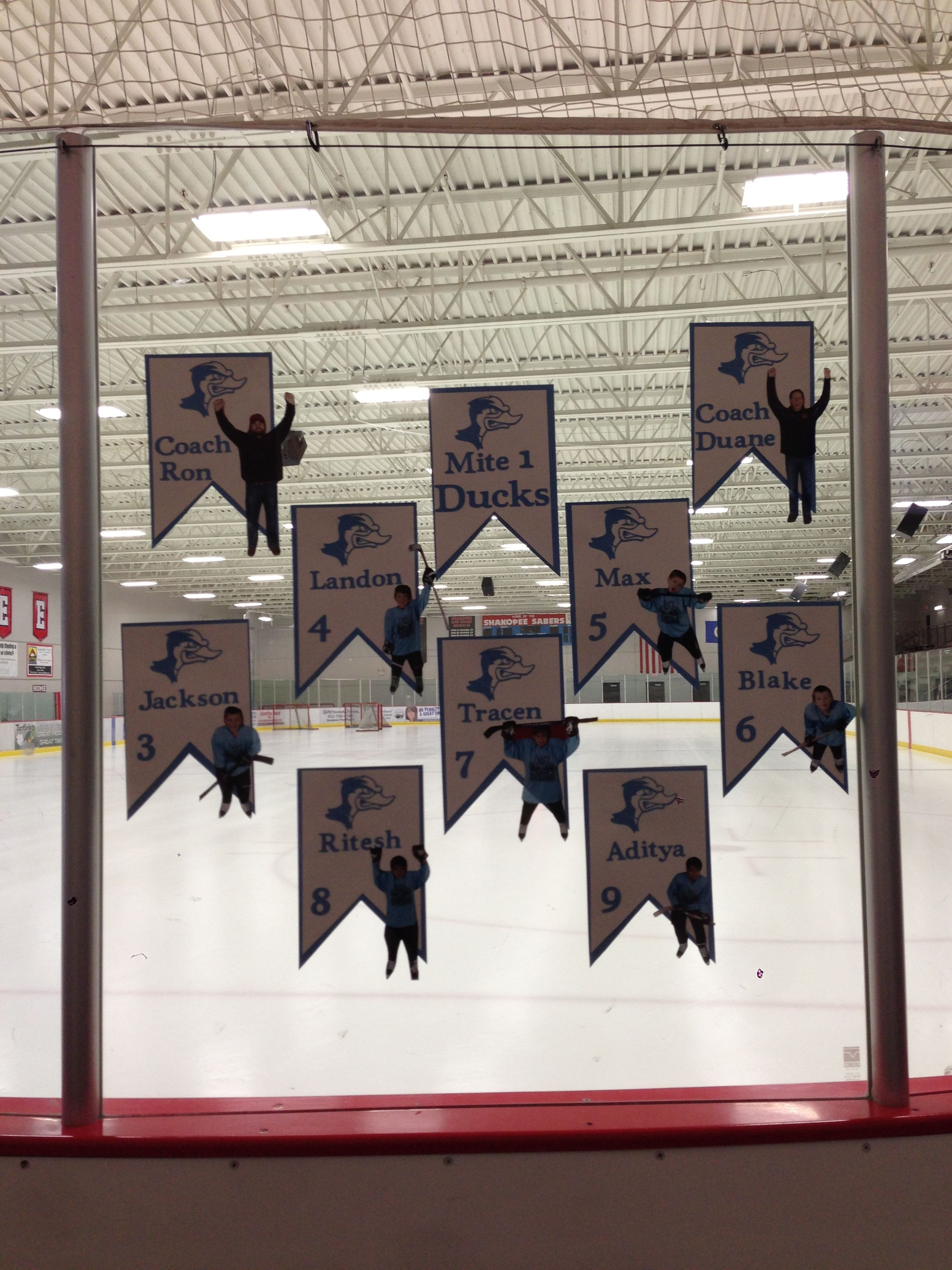 Hockey Photo Banner For Our Holland Mi Tournament Hockey