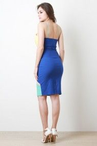 Mosaic Bodycon Dress