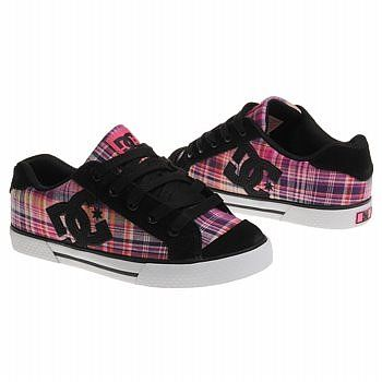 DC Shoes Womens Chelsea Shoes (Pink